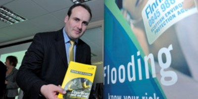 Environment Minister becomes Floodline's latest sign up and announces flood warning updates