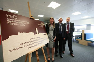 Minister opens new shared office for Scottish Environment Protection Agency and Scottish Natural Heritage