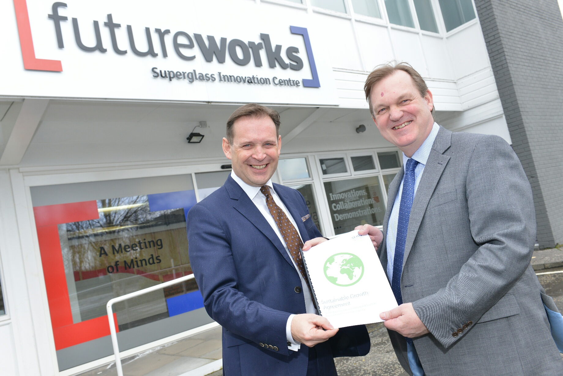 Scotland's first Sustainable Growth Agreement signed by Stirling business