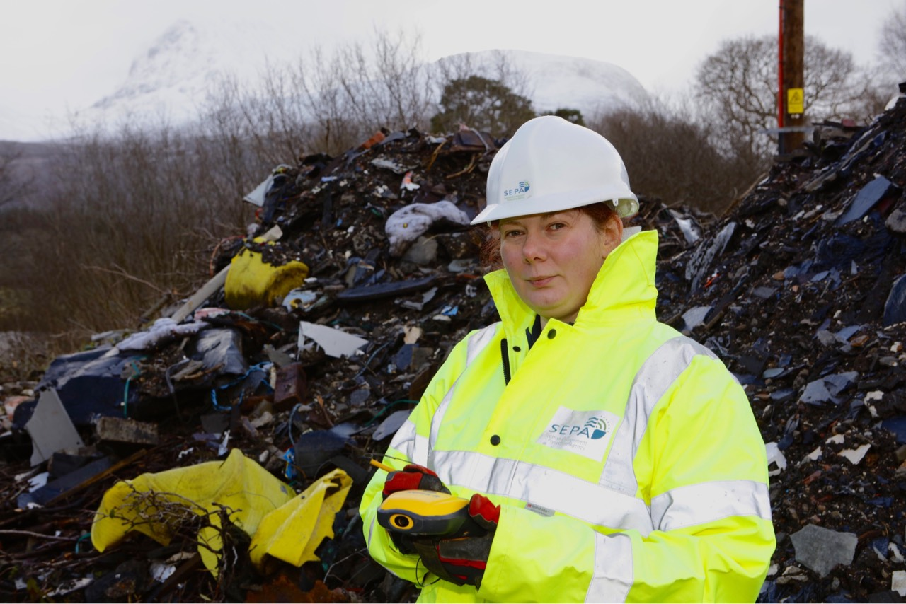 SEPA combats illegal flytipping in Fort William