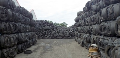 Tyre recycling company and manager sentenced for illegal Ayrshire