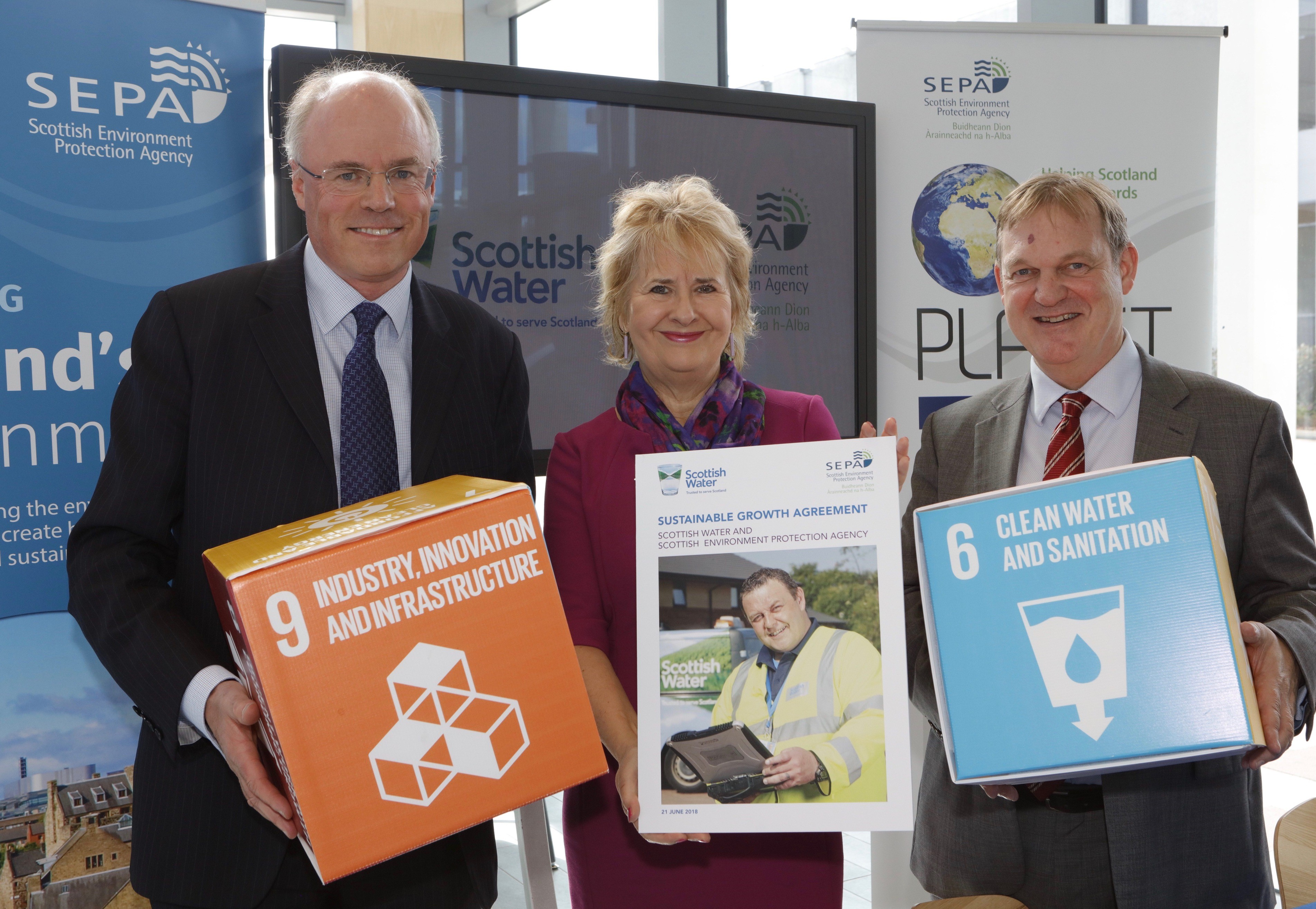 Partnership boosts sustainability potential of Scotland's waste water