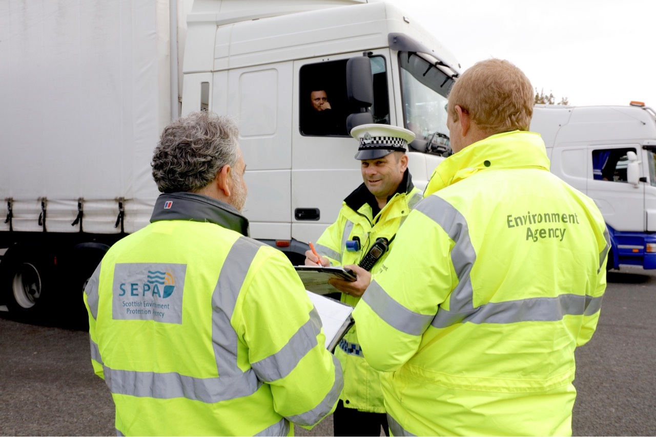 SEPA joins forces with UK agency and industry partners to drive out waste crime