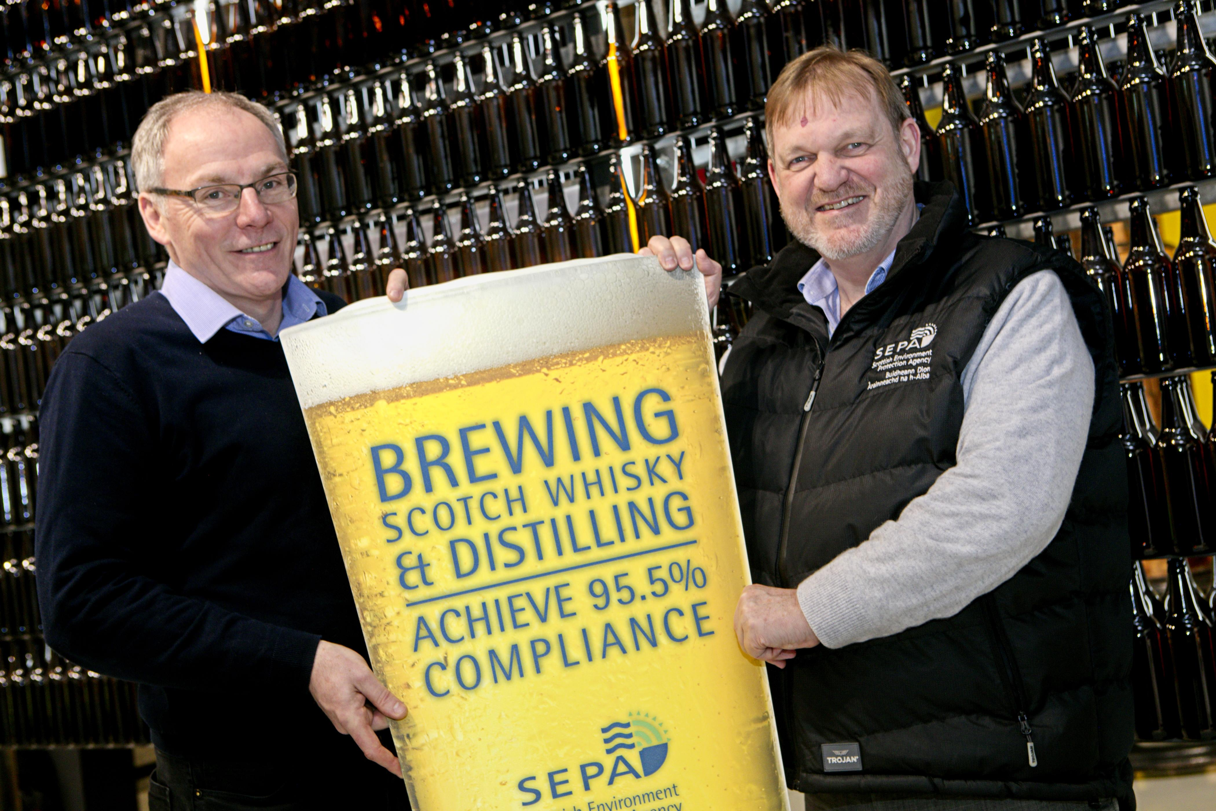 Scottish business environmental compliance over 90% for fourth year in a row in latest SEPA data